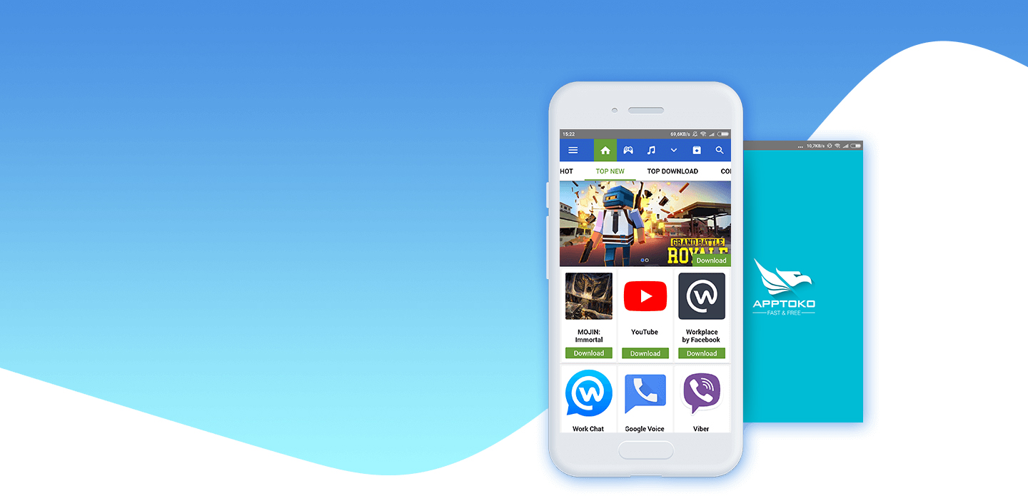 Apptoko Android - Download mobile applications and games for free 1